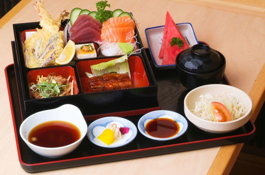 Japonų virtuvės pateikalai