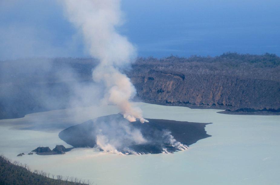 Manaro ugnikalnis Vanuatu