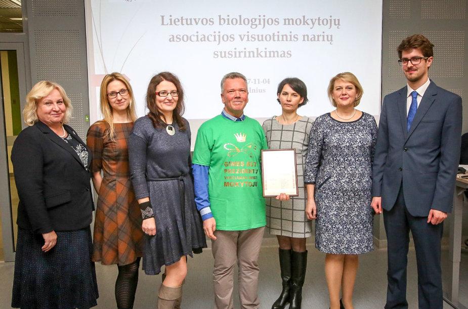 Lietuvos biologijos mokytojų asociacijos visuotinis narių susirinkimas – konferencija