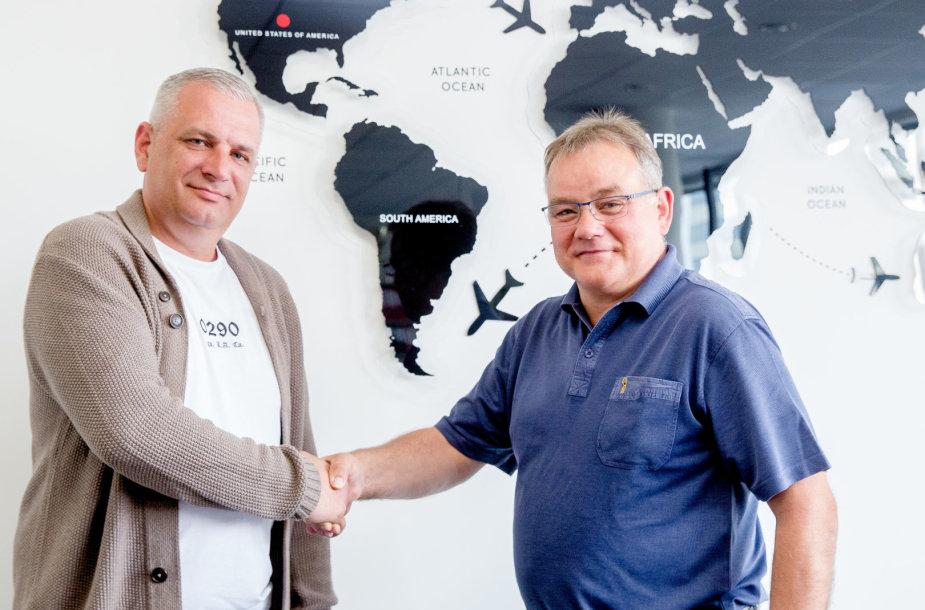 """Baltijos transporto profesinė sąjunga """"Solidarumas"""" pradėjo bendradarbiavimą su danais"""