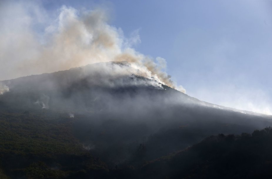 Prancūzijoje plečiasi miškų gaisrai