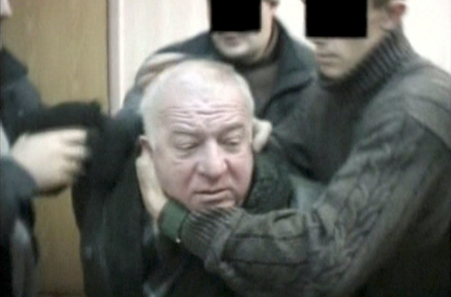 2004 metais sulaikomas Sergejus Skripalis