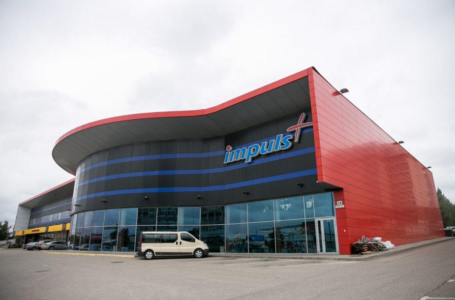 """""""Impuls"""" sporto klubas Kareivių gatvėje"""