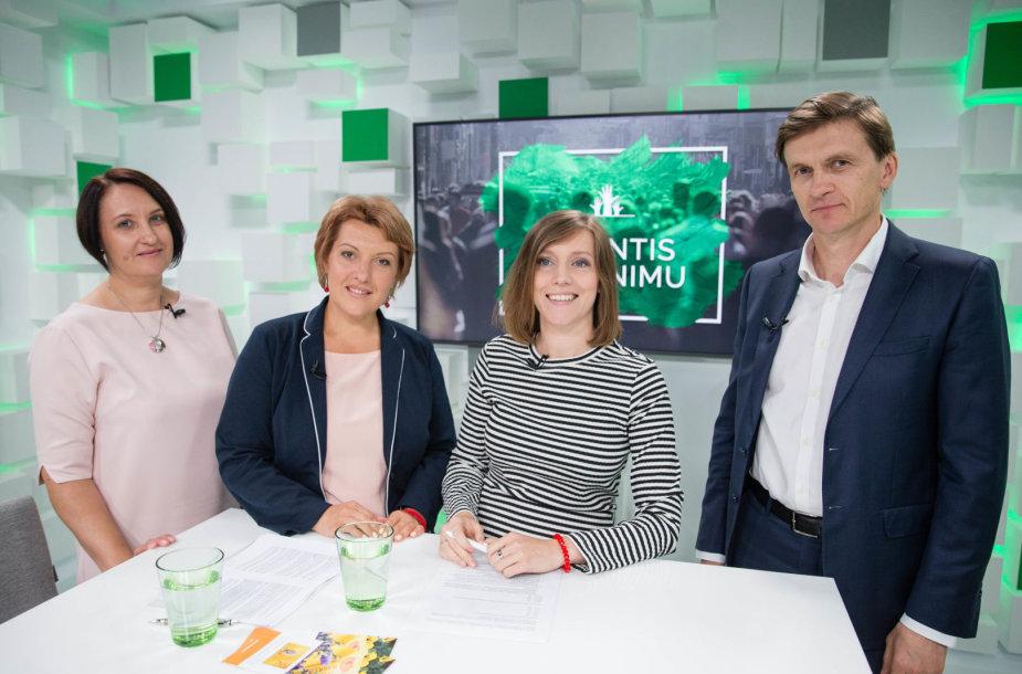 15min studijoje – pokalbis apie organų donorystę Lietuvoje