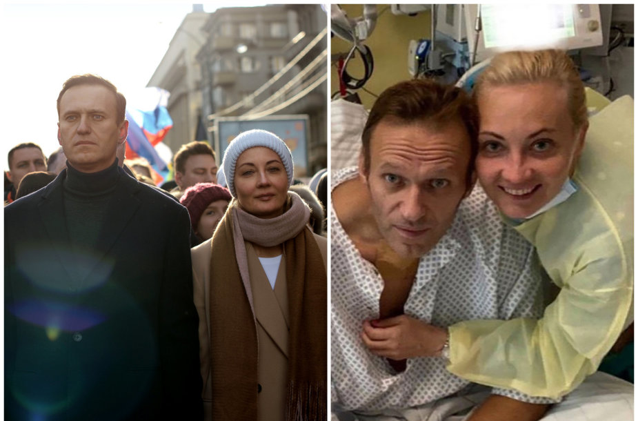 Aleksejus Navalnas ir Julija Navalnaja