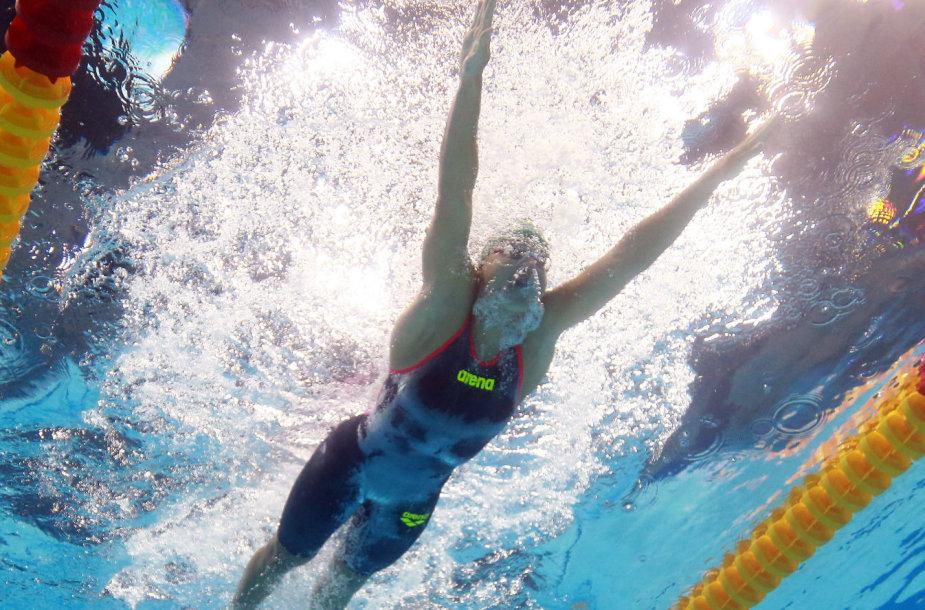 Įspūdingiausi kadrai iš FINA pasaulio vandens sporto šakų pirmenybių Budapešte
