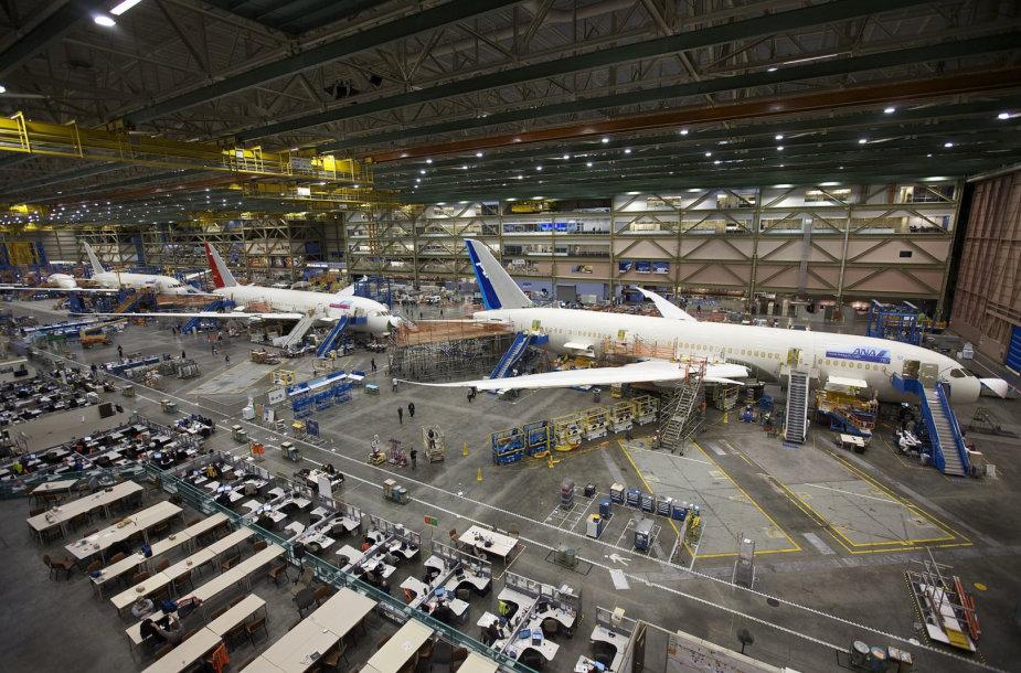 Boeing 777 ir 787 Widebody Jets