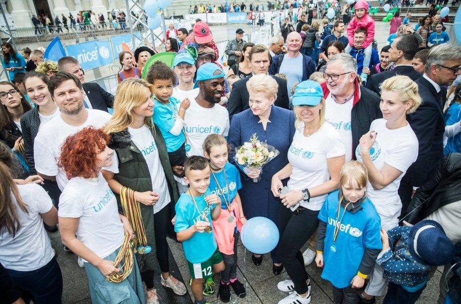 Į gimtadieniui besiruošiantį Kauną atvykstantis garsenybių karavanas kvies ruoštis UNICEF vaikų bėgimui
