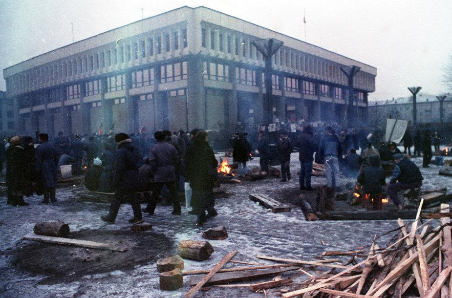 Parlamento gynėjai 1991 m.