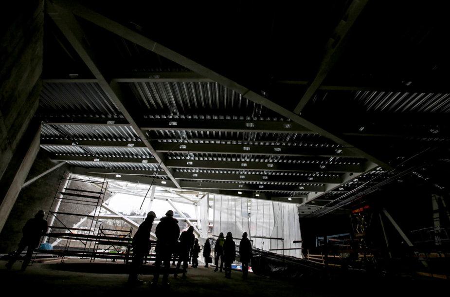 Naujojo MO muziejaus pastato statybos