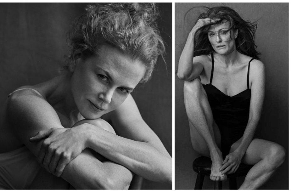 "Nicole Kidman ir Julianne Moore ""Pirelli"" kalendoriuje"