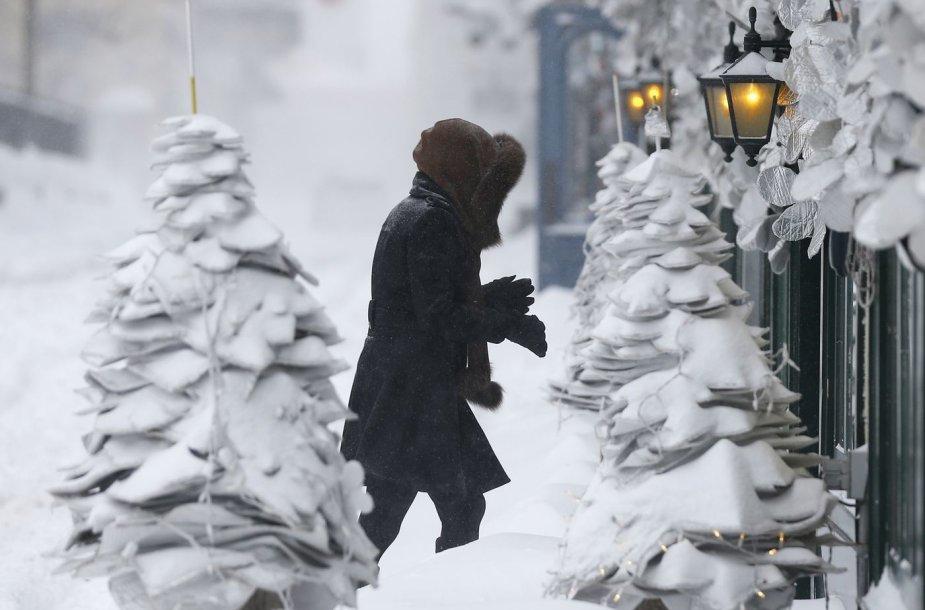 Žiema Kanadoje
