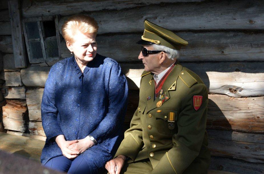 Prezidentės vizitas Kasčiūnų kaime