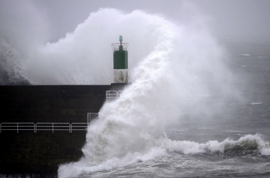 Stiprus vėjas Ispanijoje