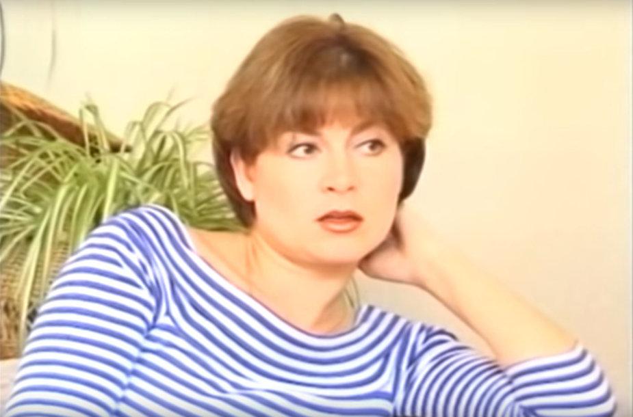 Edita Mildažytė prieš 22 metus duotame interviu