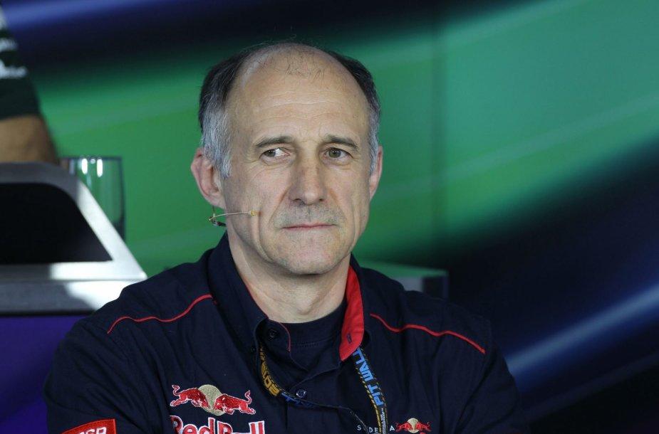 "Franzas Tostas, ""Toro Rosso"" komandos vadovas"