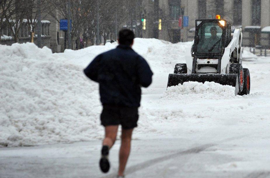 Bėgiojimas žiemą