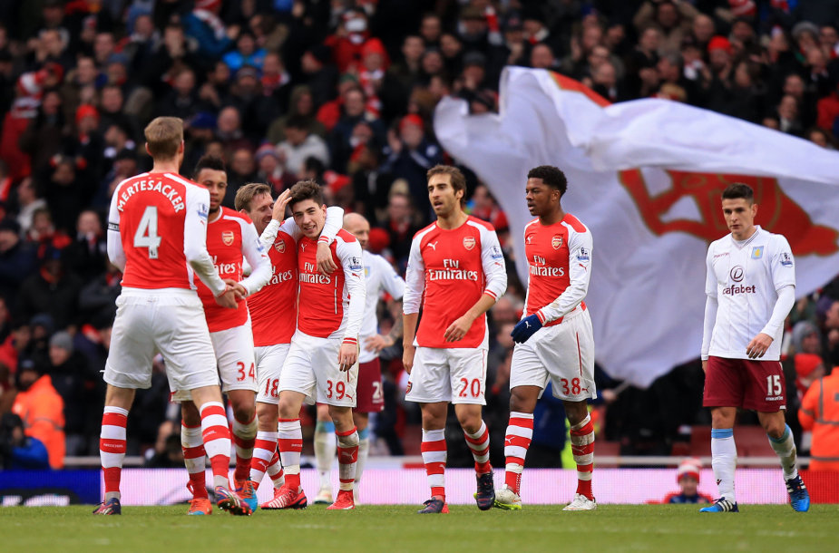 """Arsenal"" komandos pergalė"