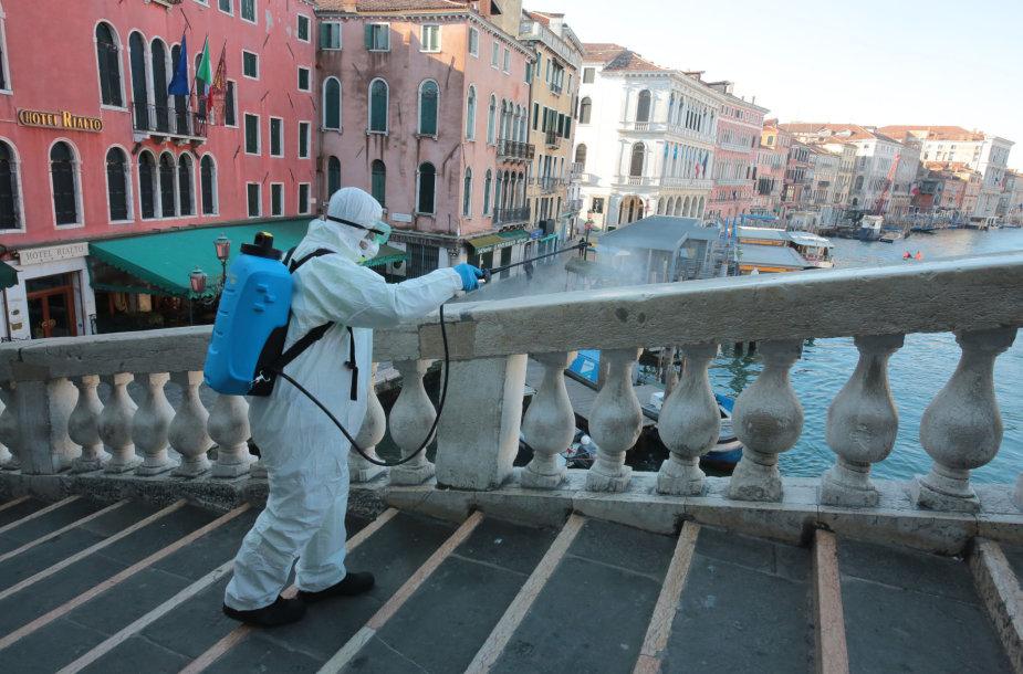 Ištuštėjusi Venecija