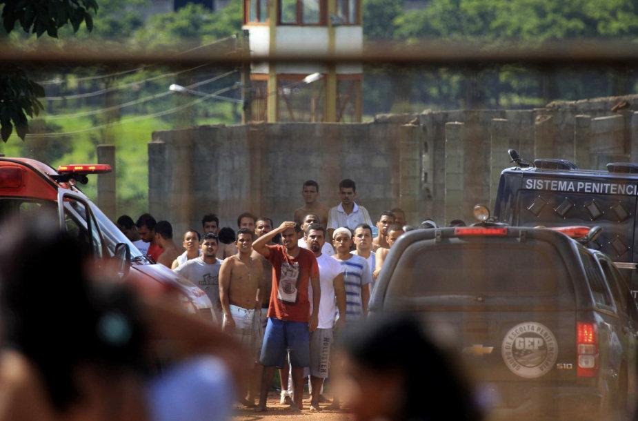 Brazilijoje per riaušes kalėjime žuvo mažiausiai devyni žmonės
