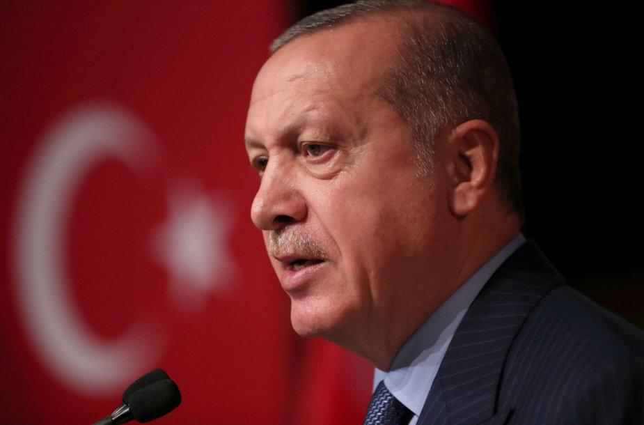 Recepas Tayyipas Erdoganas vyksta į Vokietiją