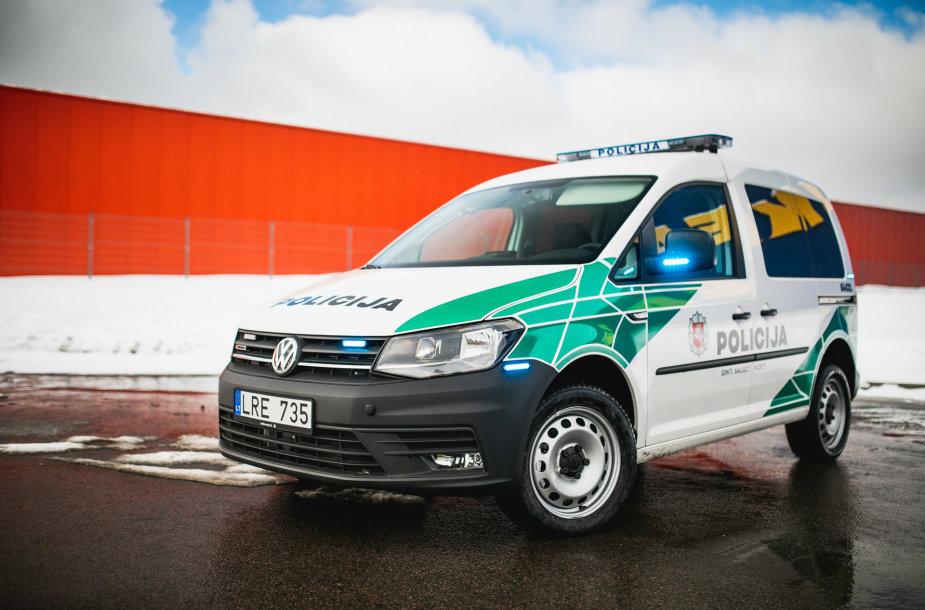 """Tukada Tech"" suprojektuoti policijos ""Volkswagen Caddy"""