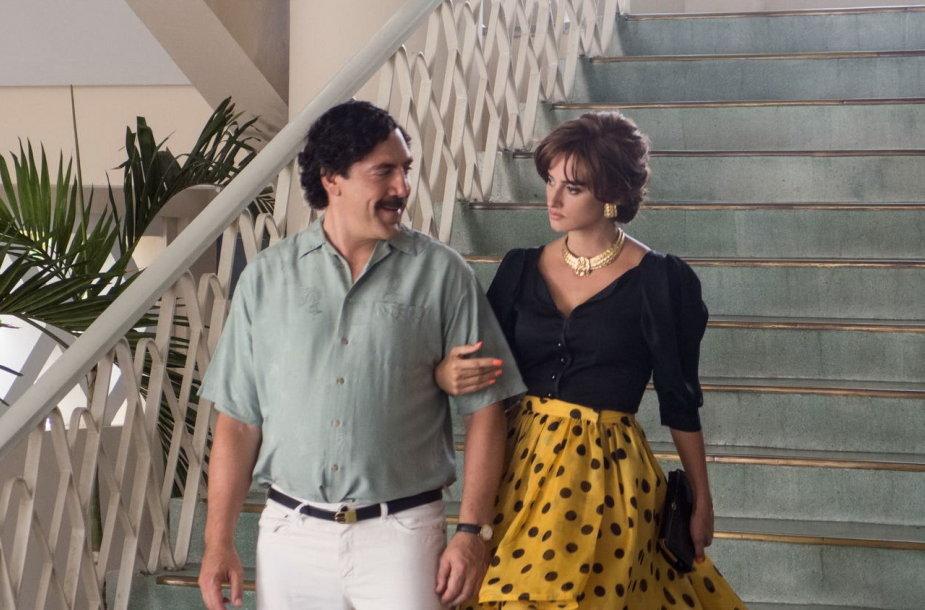 """Javieras Bardemas ir Penelope Cruz filme """"Iš meilės Pablui"""""""