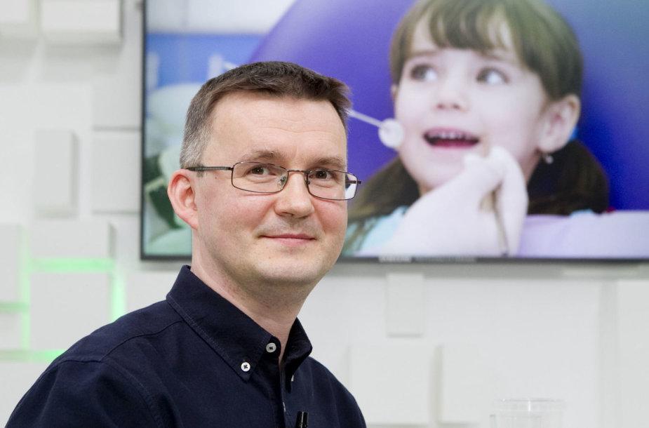 15min studijoje – ortodontas Jaroslavas Mickevičius