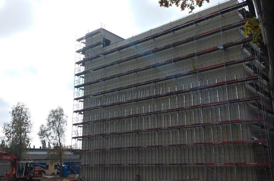 Klaipėdos apskrities vyriausiojo policijos komisariato statybvietė