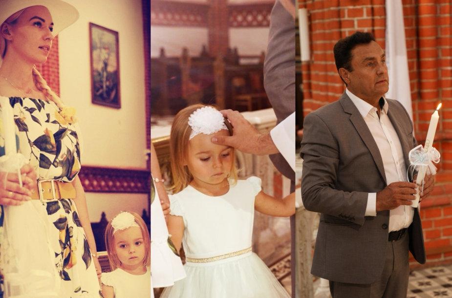 Birutės Navickaitės ir Petro Gražulio dukros krikštynos