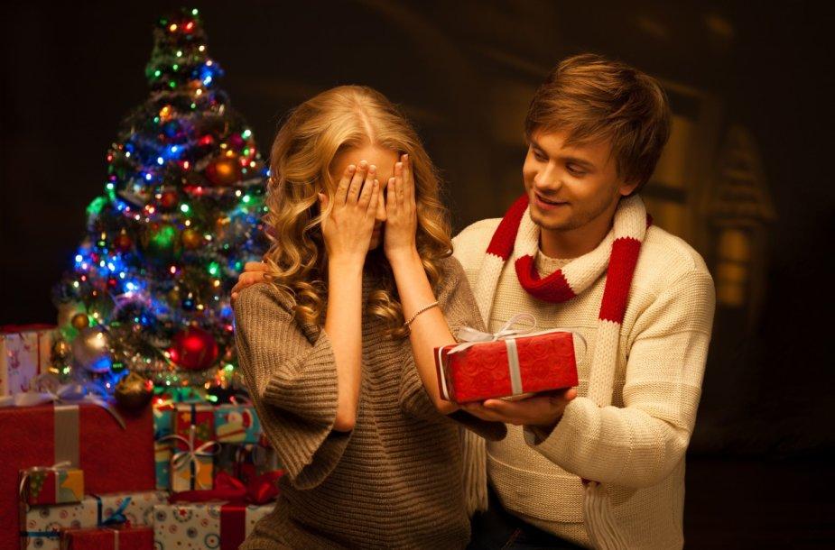 Laiminga pora per Kalėdas
