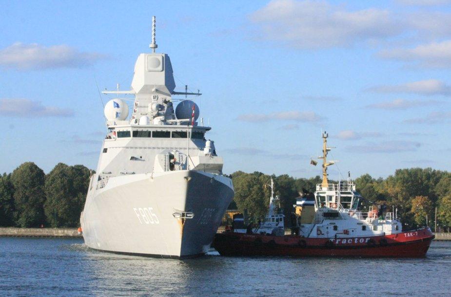 Klaipėdos uoste vieši Nyderandų ir Belgijos kariniai lavai