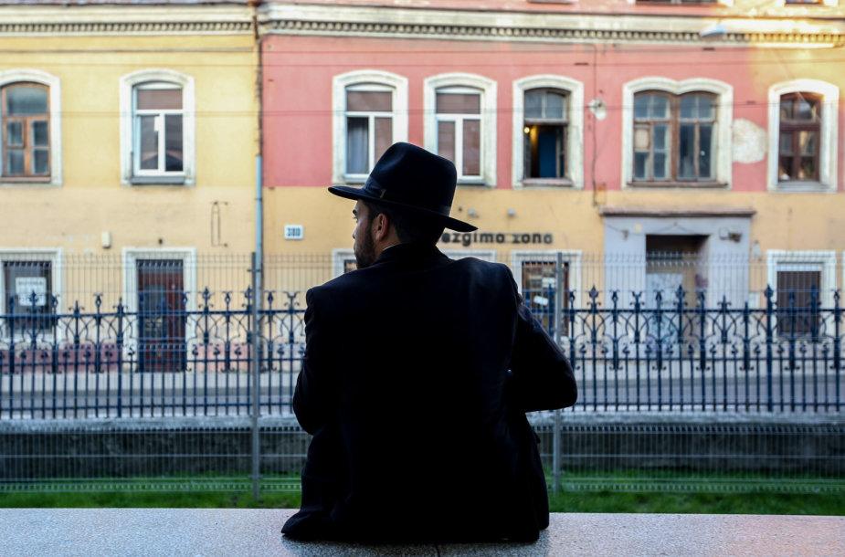 Vilniaus sinagogoje rašoma tora