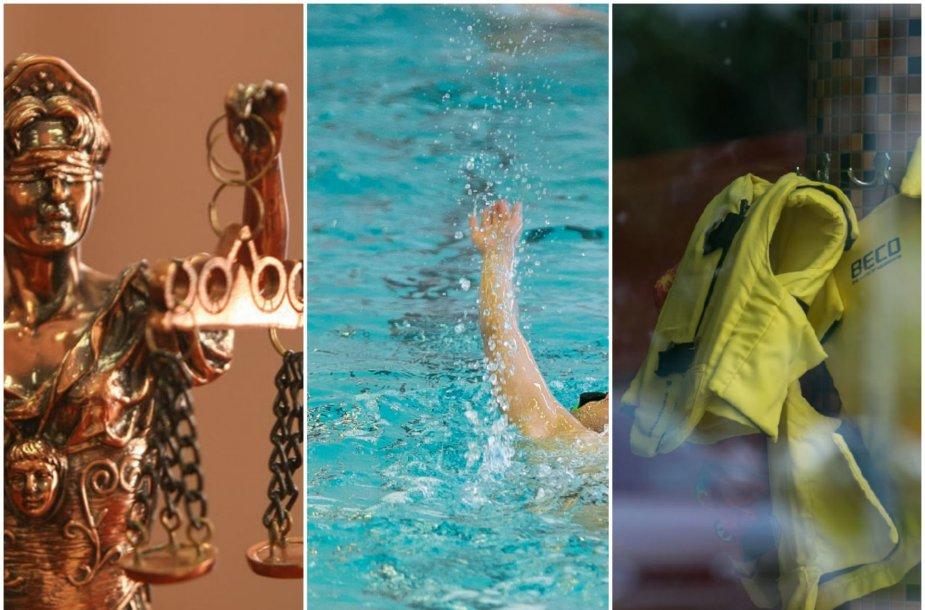 Atsakomybę už sporto klubo baseine nuskendusį mažametį auklėtinį reikės įvertinti teismui.