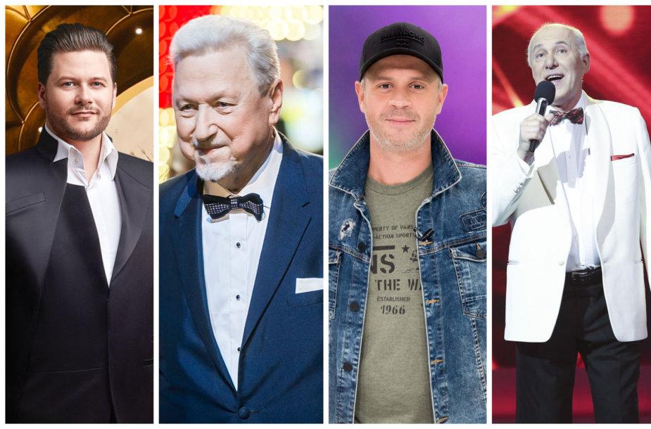Merūnas Vitulskis, Virgilijus Noreika, Lukas Pačkauskas ir Vladimiras Prudnikovas
