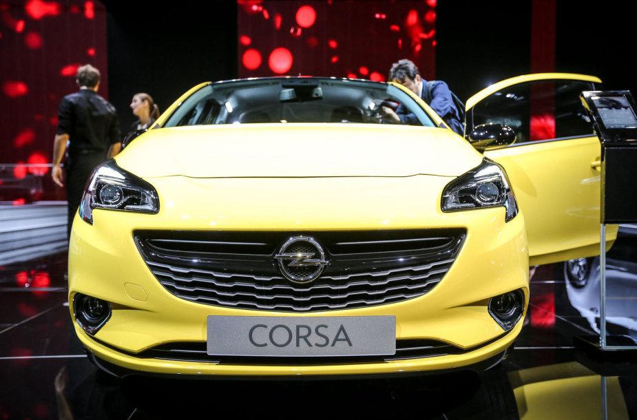 "Naujoji ""Opel Corsa"""