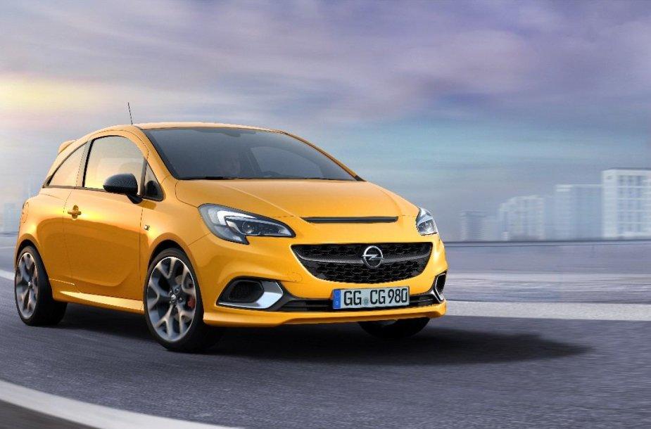 """Naujasis """"Opel Corsa GSi"""": sportiškas spuogas ant ratų"""