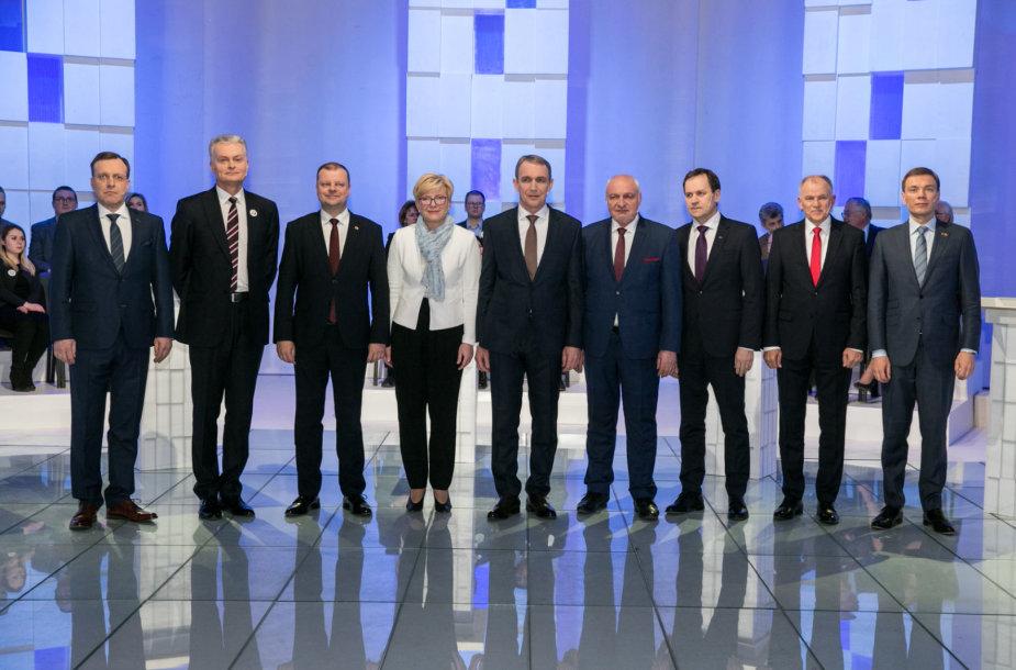 Kandidatų į Respublikos Prezidentus debatai