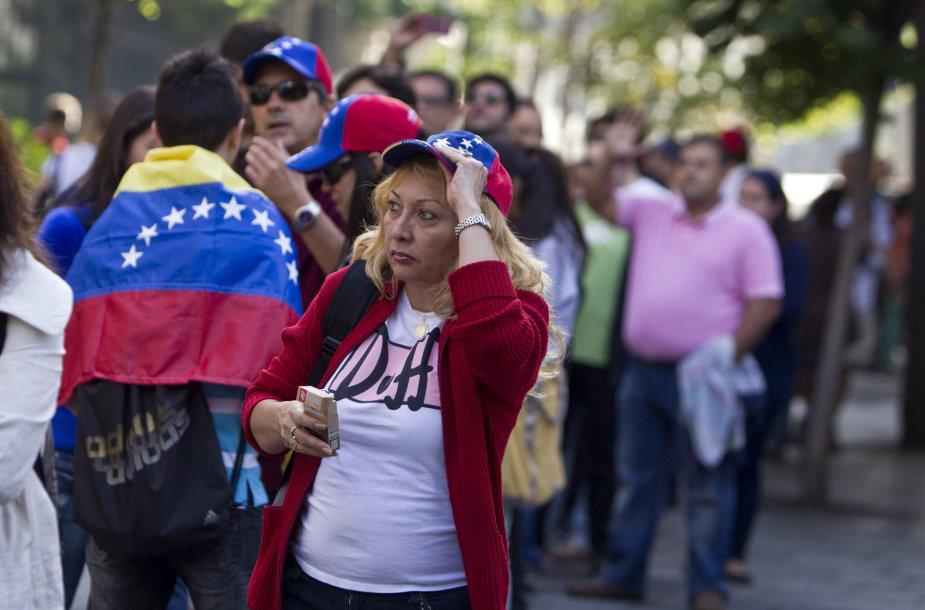 Venesueliečiai Ispanijoje