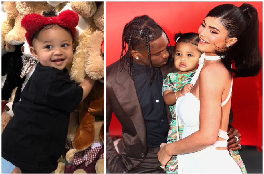 Travisas Scottas, Kylie Jenner ir Stormi Webster