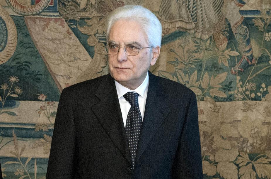 Sergio Mattarella, Italijos prezidentas