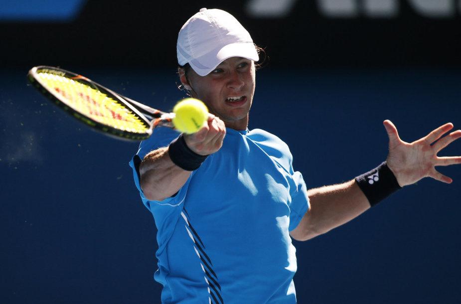 """Ričardas Berankis pirmą kartą dalyvavo """"Australian Open"""" dvejetų turnyre"""
