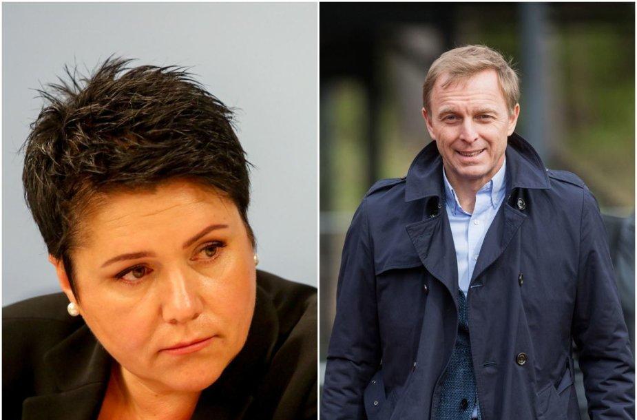 Daina Gudzinevičiūtė sulaukė Eimanto Skrabulio ir dar trijų federacijų vadovų kaltinimų.