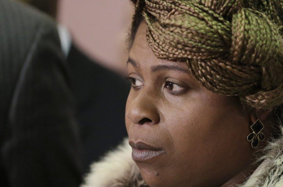 Nušauto 12-mečio juodaodžio berniuko motina Samaria Rice