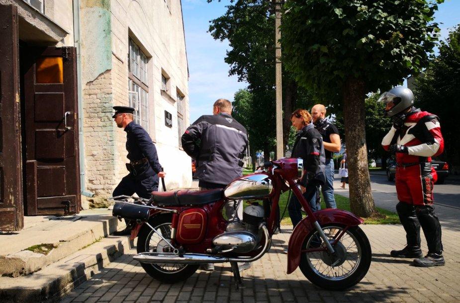 """""""Mototurizmo ralis"""": Smalininkų uostas ir kultūros centras"""