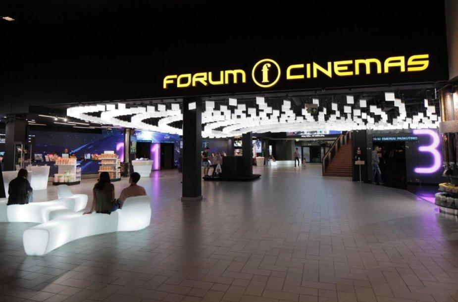 """""""Forum Cinemas"""" Kaune interjeras"""