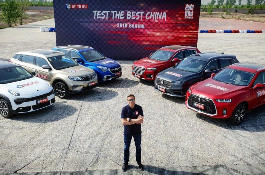 Kiniškų automobilių gamintojai sparčiai vejasi europiečius