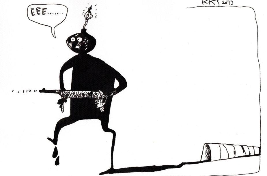 """""""Terorizmo prigimtis"""""""