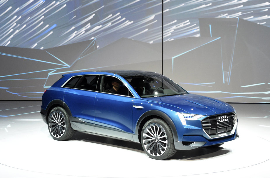 """Audi e-tron Quattro"" koncepcinio modelio pristatymas Frankfurto automobilių parodoje"