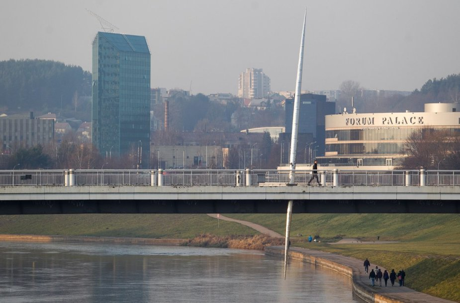 Saulėta Lapkričio popietė Vilniuje
